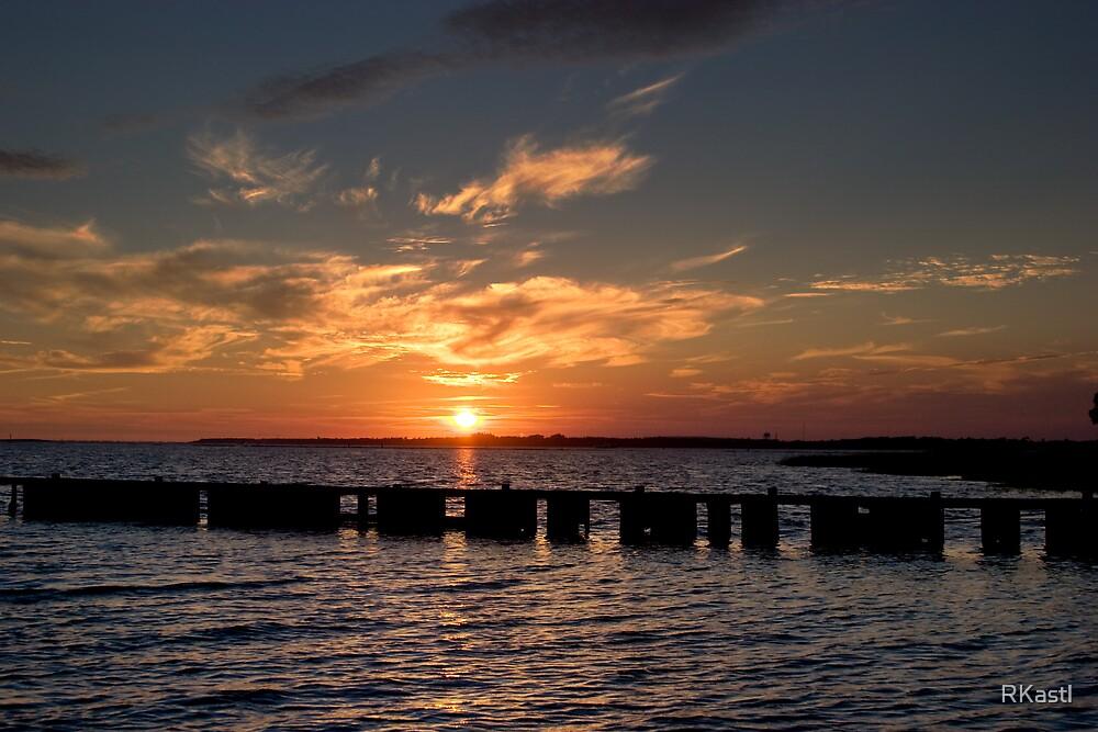 Cape Fear Sunset by RKastl