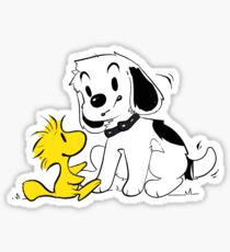 Snoopy and Woodstock - Peanuts Sticker