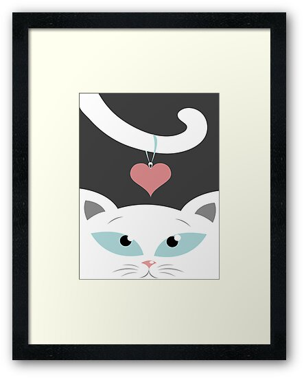 cat in love by oksancia