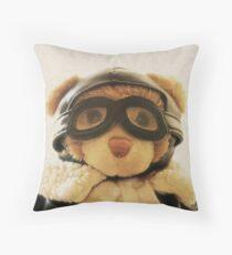 Ted, The Traveller Throw Pillow