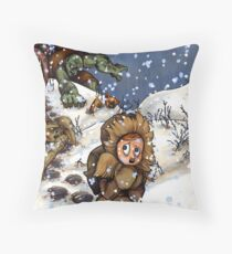 Get The Ugly One! Throw Pillow