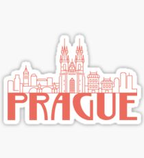 Prague Czech Sticker