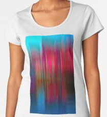 Red and Blue Reflection Women's Premium T-Shirt