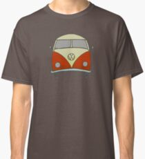 Old style beach bus Classic T-Shirt