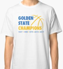 Golden State Champions (White) Classic T-Shirt