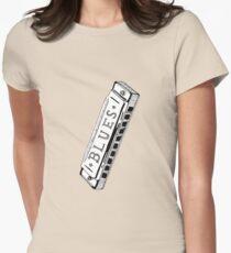 Feelin' Bluesy Women's Fitted T-Shirt