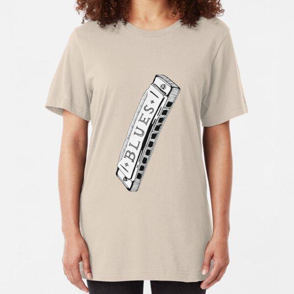 Feelin' Bluesy Slim Fit T-Shirt