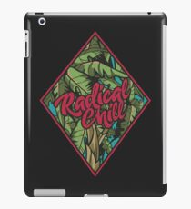 Distressed Radical Chill Graphics iPad Case/Skin