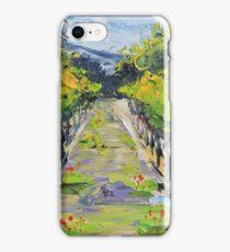 Vineyard winery Carmel California iPhone Case/Skin