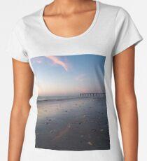 St John's County Ocean Pier At Sunrise Women's Premium T-Shirt