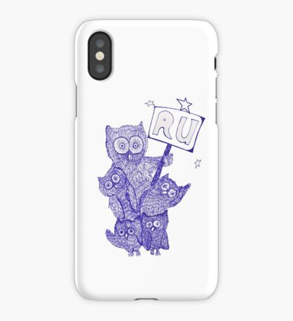 Who are you, whowho iPhone Case/Skin