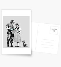 """""""Stop and Search - Banksy  Postcards"""