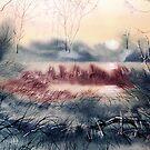 Last Light at Skipwith by Glenn Marshall