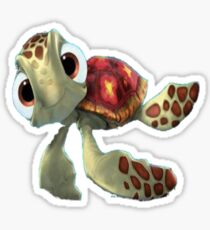 squirt from finding nemo Sticker