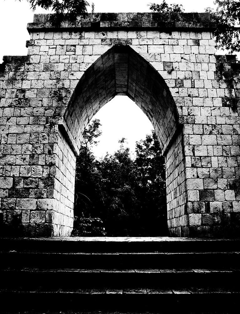 Stone Archway by abryant