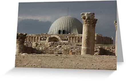 Amman Citadel in Jordan by renprovo