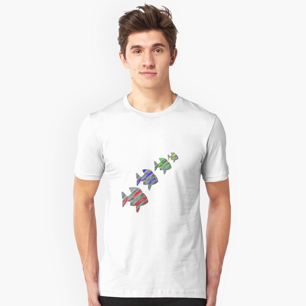 Colour of Fish Unisex T-Shirt Front