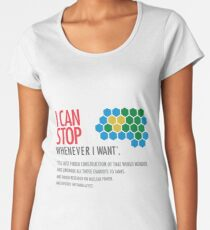 I Can Quit Anytime, But First... Civilization Game Women's Premium T-Shirt