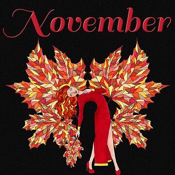 November by ArianaFire