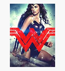 Super Woman Gal Gadot Photographic Print