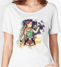 Last Revelation   Lara Croft, Tomb Raider Women's Relaxed Fit T-Shirt
