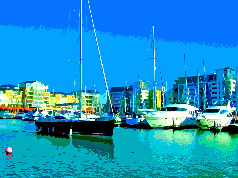 Sovereign Harbour Eastbourne by flyingscot