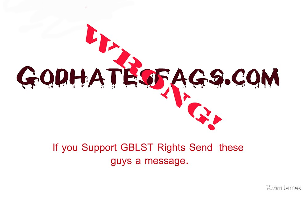 "Anti-""GodHatesFags.com"" Card 2 by XtomJames"