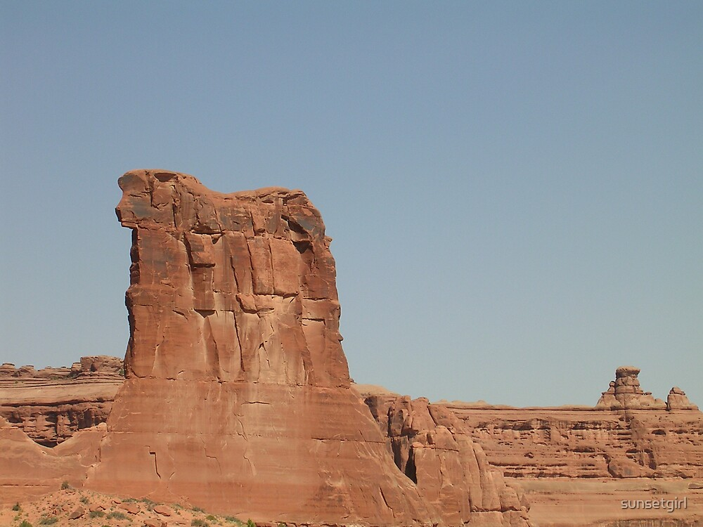 Rock Formation by sunsetgirl