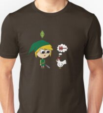 Link Sims Unisex T-Shirt