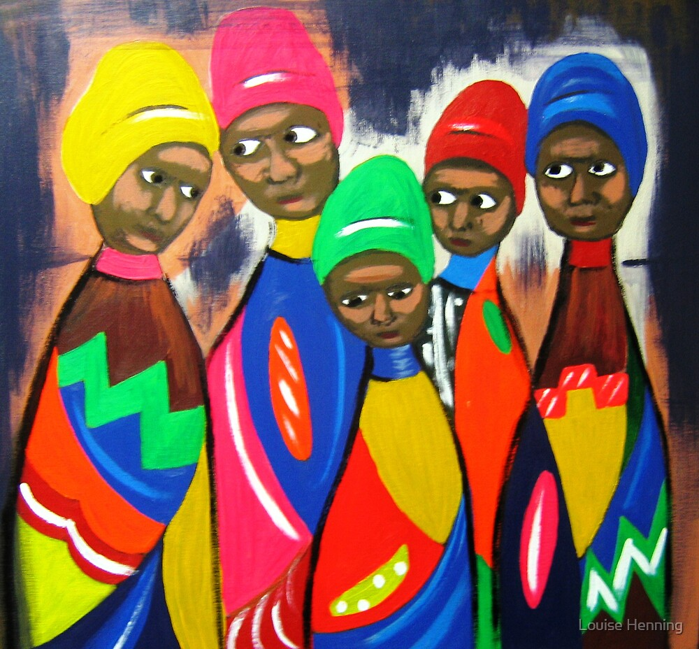 African Women by Louise Henning