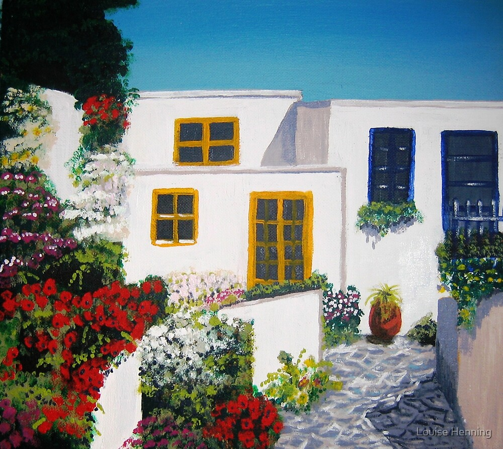 Home in Greece by Louise Henning