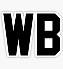 WB Sticker