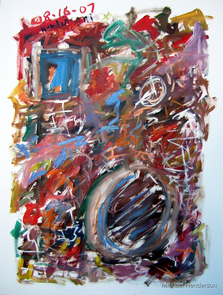 Large Abstract No. 6 by Michael Henderson