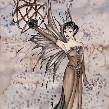 Gothic faery by Bluerainbow