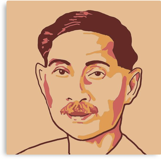 Munshi premchand pencil sketch — 1