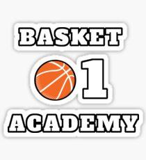 Basket Academy Sticker