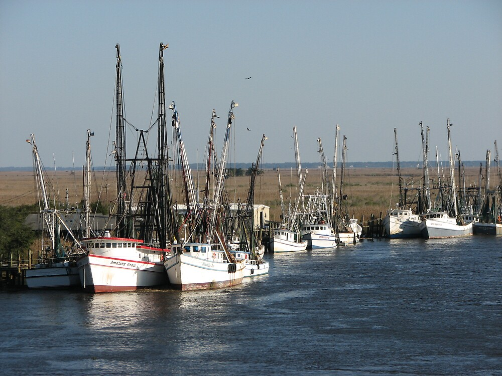 Shrimp boats by Beowulf