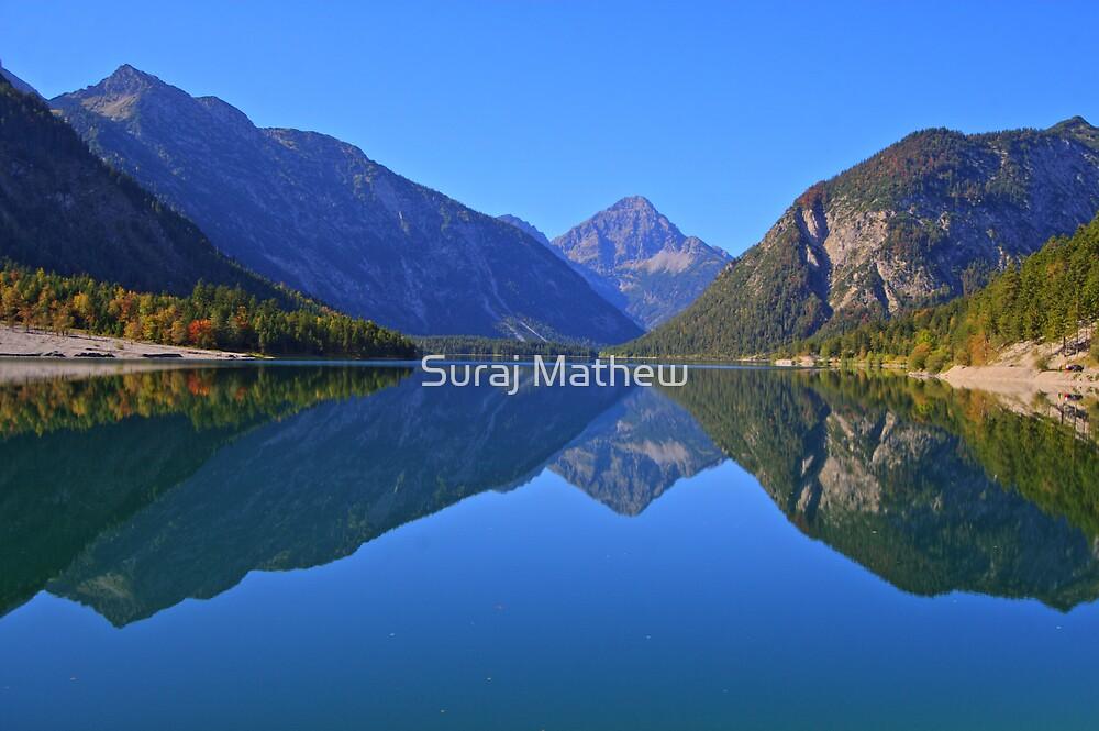 Lake Plansee, Reutte, Bavaria, Germany by Suraj Mathew