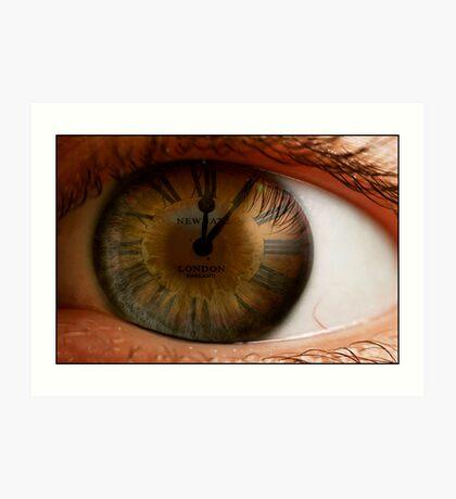 Keeping An Eye On Time Art Print