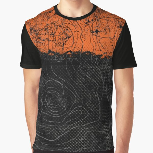 Topography Graphic T-Shirt