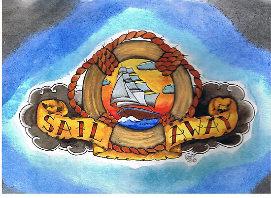 Sail Away by Gerry Harrison