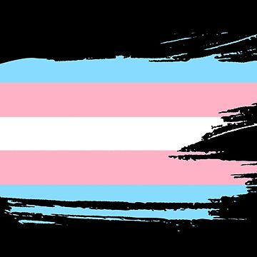 Trans Flag by maisiemoose