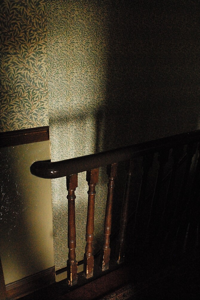 be careful of the banisters by ragman