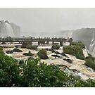 Brazil - Iguaçu National Park - platform by Ren Provo