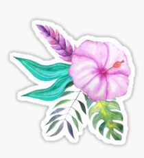 Tropical bouquet viii Sticker