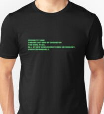 Priority One Unisex T-Shirt
