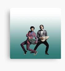 Flight of the Conchords 5 Canvas Print