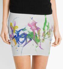 Simple colours Mini Skirt
