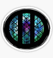 A Pop Opera: Stained Glass (circular) Sticker