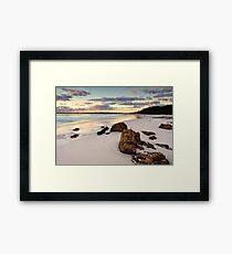 Hyams Beach Jervis Bay at sunrise  landscape seascape Framed Print